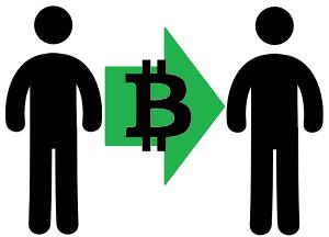 Cryptotransactie zonder bank