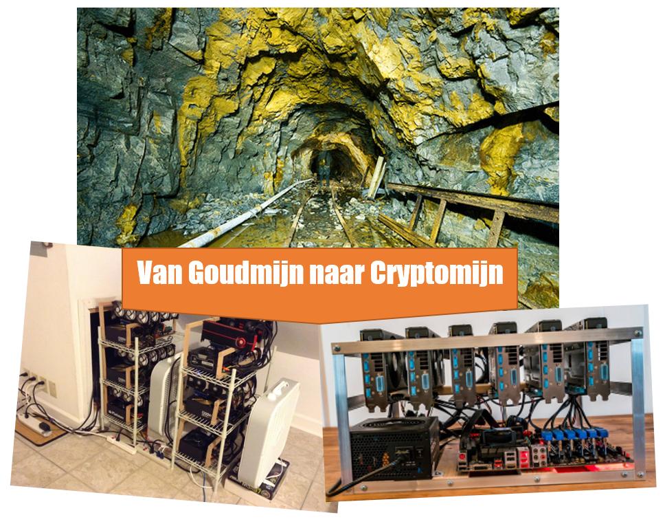 Van Goudmijn naar Cryptomijn
